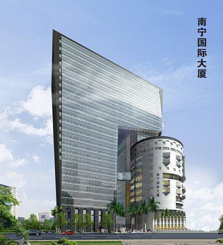 广西国际金融中心国际大厦