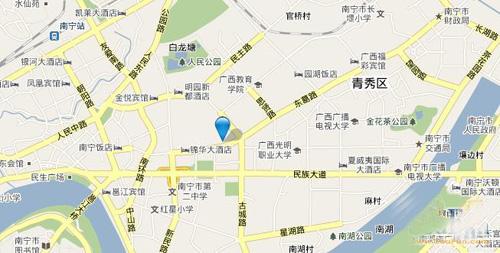 昌泰东盟园区位图