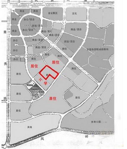 海华东盟公馆交通图
