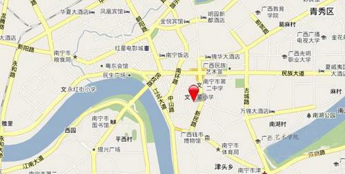 凯旋大厦区位图