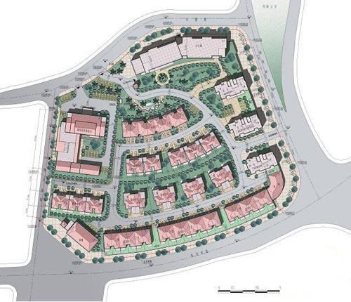 德利凤岭世家建筑规划设计图