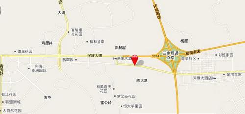 东门(国际)海鲜美食商业广场区位图