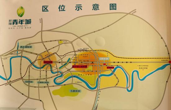 新隆青年城区位图