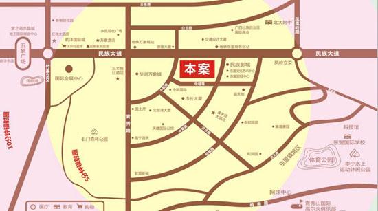 三祺广场区位图